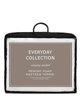 Everyday Collection Everyday Collection Memory Foam 2.5 Cm Mattress Topper Picture