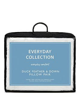 Everyday Collection Everyday Collection Duck Feather And Down Pillows  ... Picture