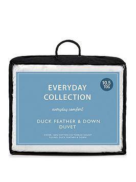 Everyday Collection Everyday Collection Duck Feather And Down 10.5 Tog  ... Picture