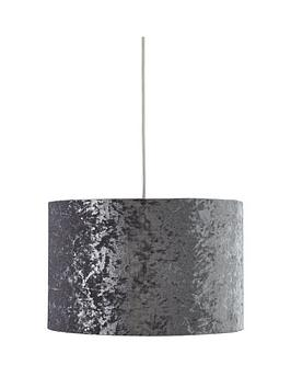Very Lottie Crushed Velvet Easy Fit Lightshade Picture