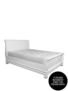 sweet-dreams-heather-bed-frame-mattress-with-mattress-option-buy-and-save