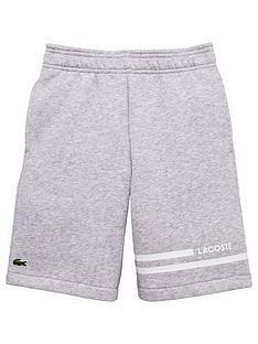 lacoste-sports-boys-sport-classic-fleece-short