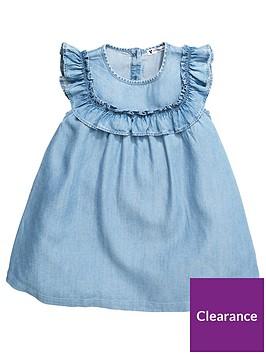 mini-v-by-very-girls-frill-tencel-dress-denim