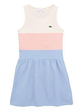 lacoste-girls-stripped-pique-dress