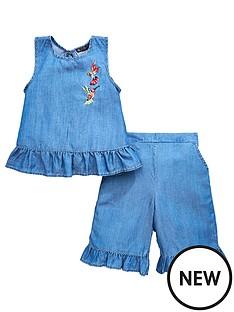 mini-v-by-very-girls-ruffle-hem-tencel-culotte-set
