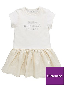 mini-v-by-very-girls-unicorn-slogan-2in1-shimmer-dress