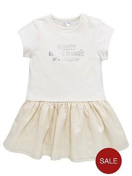 mini-v-by-very-girls-unicorn-slogan-2in1-shimmer-dress