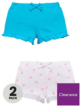 mini-v-by-very-pack-of-2-girls-loopback-ruffle-shorts-ndash-blueseashell