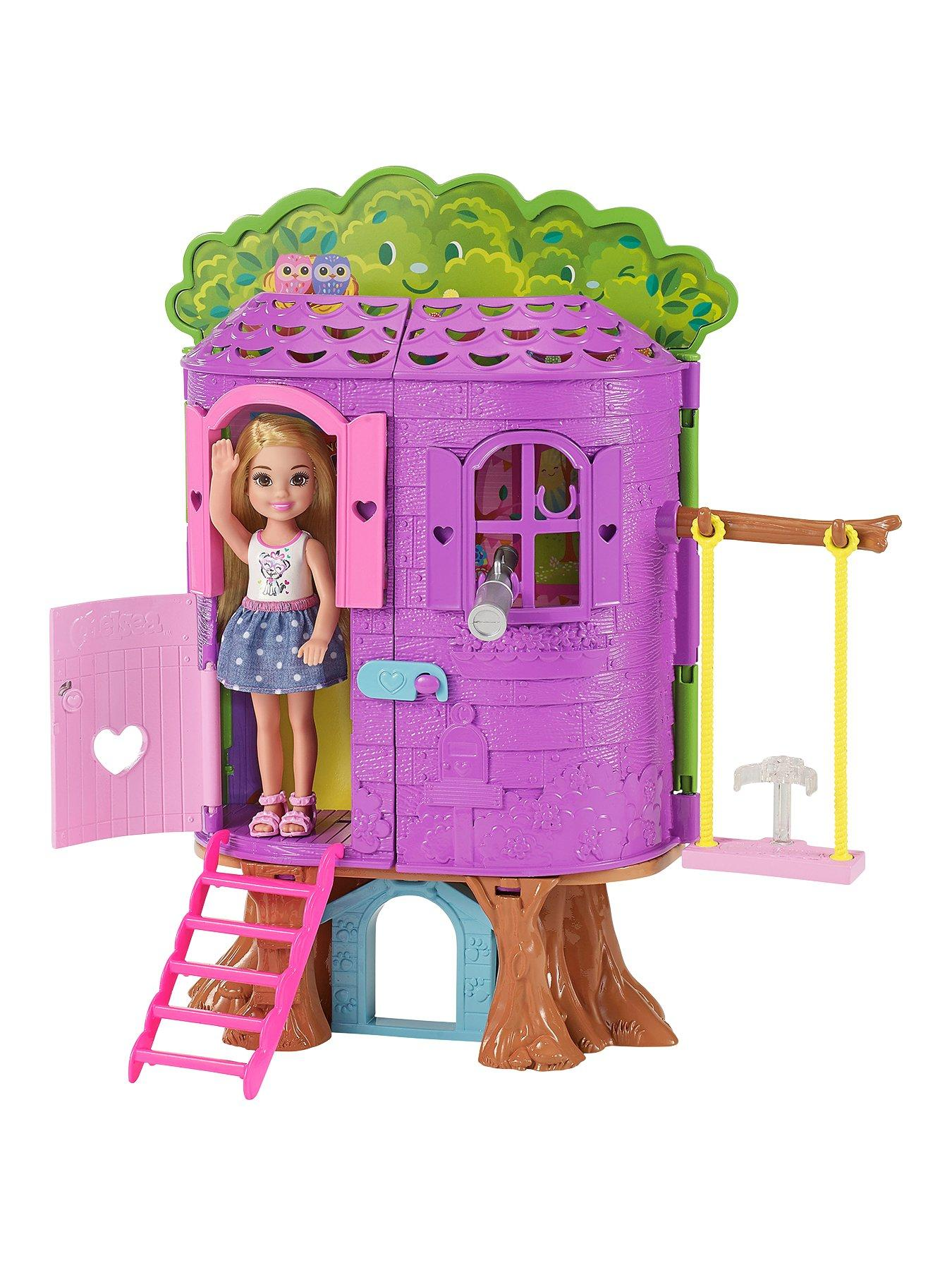 Compare prices for Barbie Club Chelsea Treehouse Playset