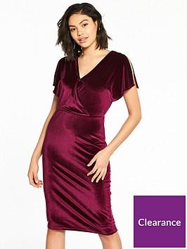 v-by-very-velvet-midi-dress