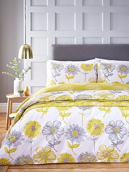 Catherine Lansfield Catherine Lansfield Banbury Easy Care Duvet Cover Set Picture