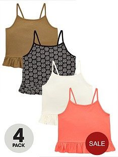 v-by-very-girls-4-pack-frill-cami-tops