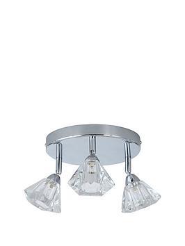 Very Diamond 3 Light Spot Ceiling Light Picture
