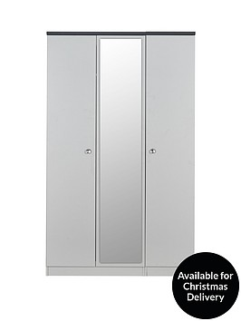 swift-napoli-partly-assembled-3-door-mirrored-wardrobe-5-day-express-delivery