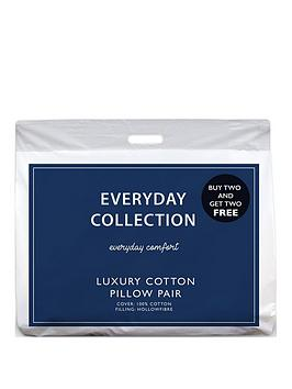 Everyday Collection Everyday Collection Pure Cotton Pillows &Ndash; Buy 2  ... Picture