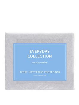 Everyday Collection Everyday Collection Terry Cotton Waterproof Mattress  ... Picture