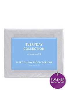 everyday-collection-terry-cotton-waterproof-pillow-protectors-pair