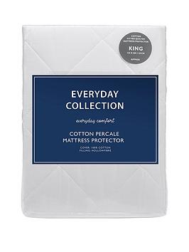 Everyday Collection Everyday Collection Cotton Percale Quilted Mattress  ... Picture