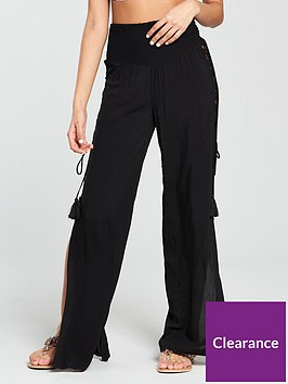 v-by-very-lace-up-side-beach-trousers-blacknbsp