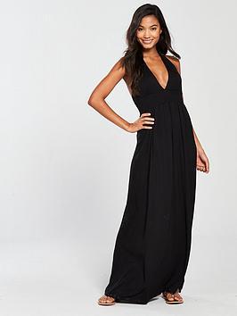 v-by-very-jersey-halter-beach-maxi-dress