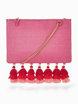 v-by-very-tassel-edge-clutch-bag-pink