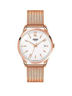 henry-london-richmond-white-dial-rose-gold-bracelet-mens-watch