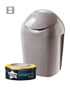 tommee-tippee-sangenic-tec-nappy-disposal-bin-grey