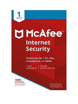Mcafee   2018 Internet Security 1 Device