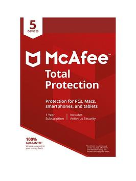 Mcafee   2018 Total Protection 5 Device