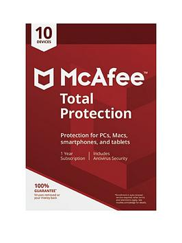 Mcafee   2018 Total Protection 10 Device