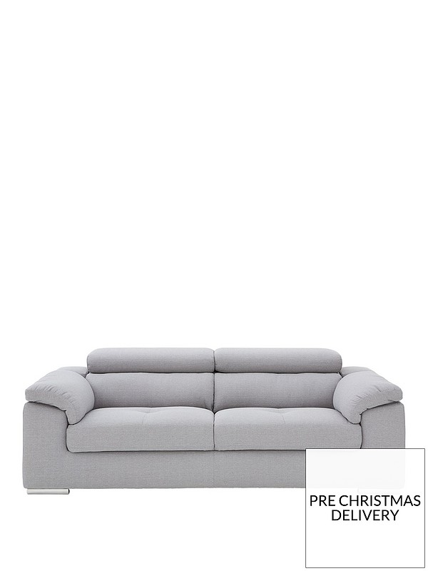 Brady 3 Seater Fabric Sofa