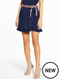 ted-baker-xzenia-bow-mini-skirt-navy
