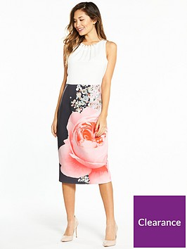 ted-baker-rubelle-blenheim-palace-ruched-bodycon-dress-whiteprint