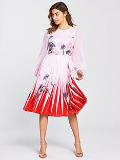 ted-baker-prticha-lake-of-dreams-pleated-dress-dusky-pinknbsp