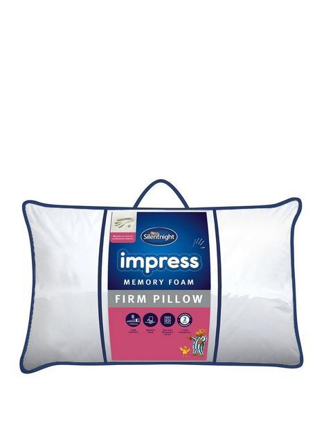 silentnight-firmnbspimpress-memory-foam-pillow