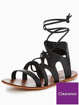 warehouse-leather-gladiator-sandal
