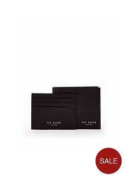 ted-baker-ted-baker-leather-wallet-and-cardholder-set