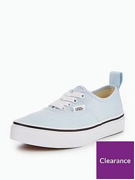 vans-vans-uy-authentic-elastic-lace-childrens-trainer