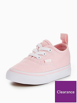 vans-td-authentic-elastic-lace-infant-trainer-pinkwhitenbsp