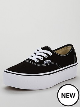 d5c54efcbf5546 Ua Authentic Platform 2.0 Black by Vans