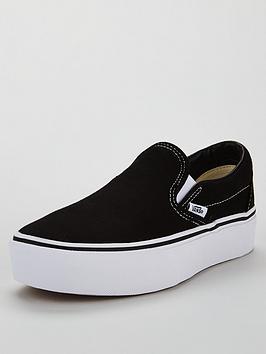 Vans Vans Ua Classic Slip-On Platform - Black Picture