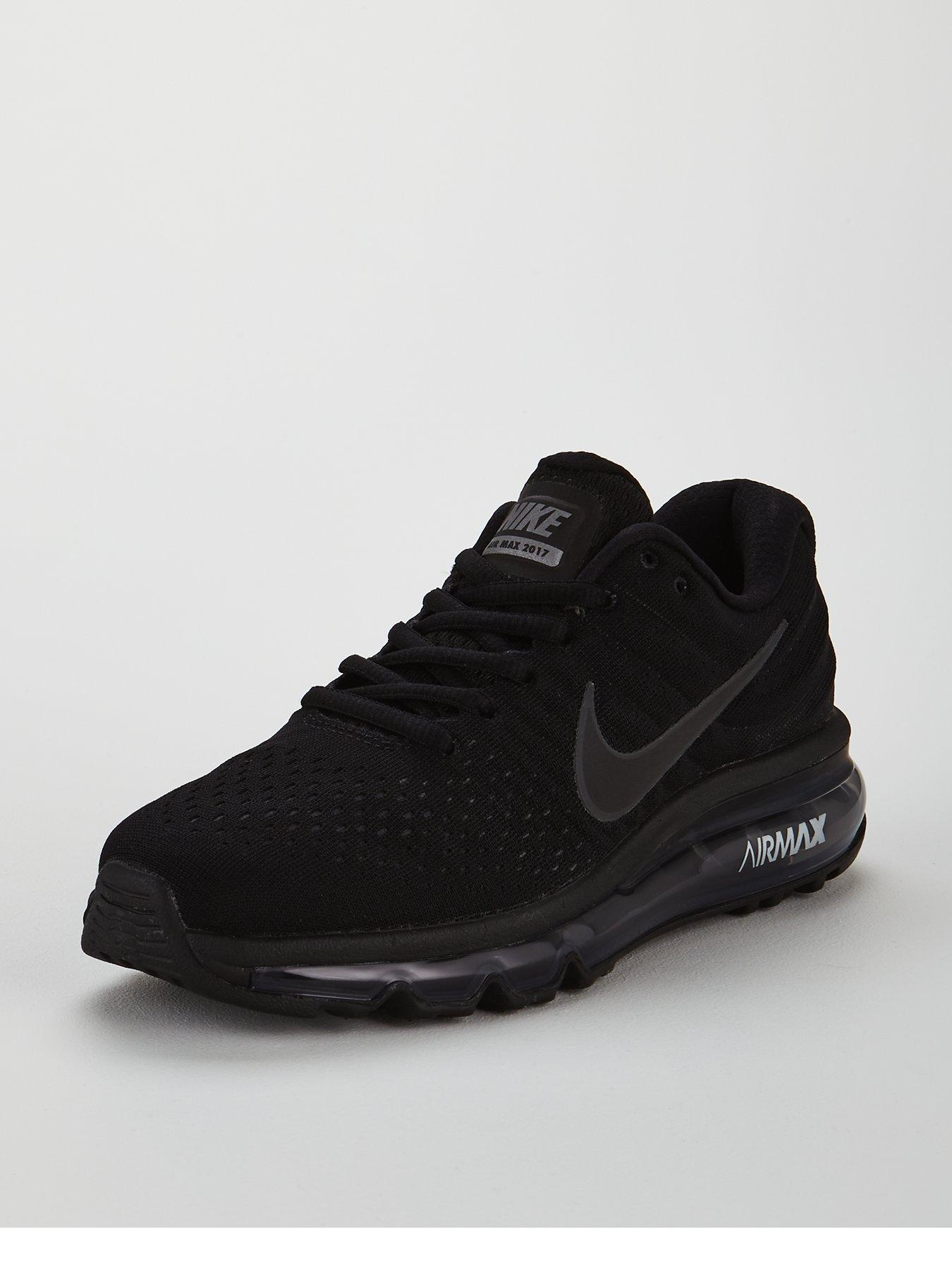 new style 7a96d 5babd release date nike air max 2017 junior trainer black aeec6 3ba03
