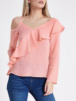 ri-petite-ri-petite-frill-one-shoulder-cami-top--pink