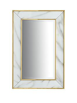 marble-effect-border-mirror