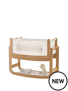 snuz-snuzpod2-3-in-1-bedside-crib-with-mattress-natural