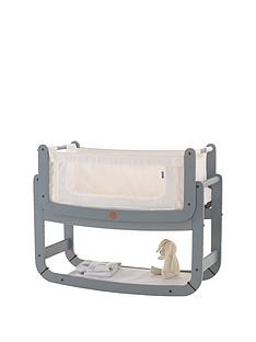 snuz-snuzpod2-3-in-1-bedside-crib-with-mattress-dove-greynbsp