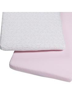 snuz-bedside-crib-pack-2-fitted-sheets