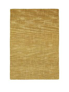 Very Tweed Effect Wool Rug Picture