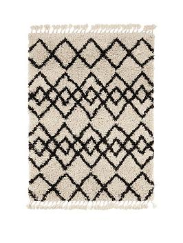 ideal-home-calandre-fringed-rug