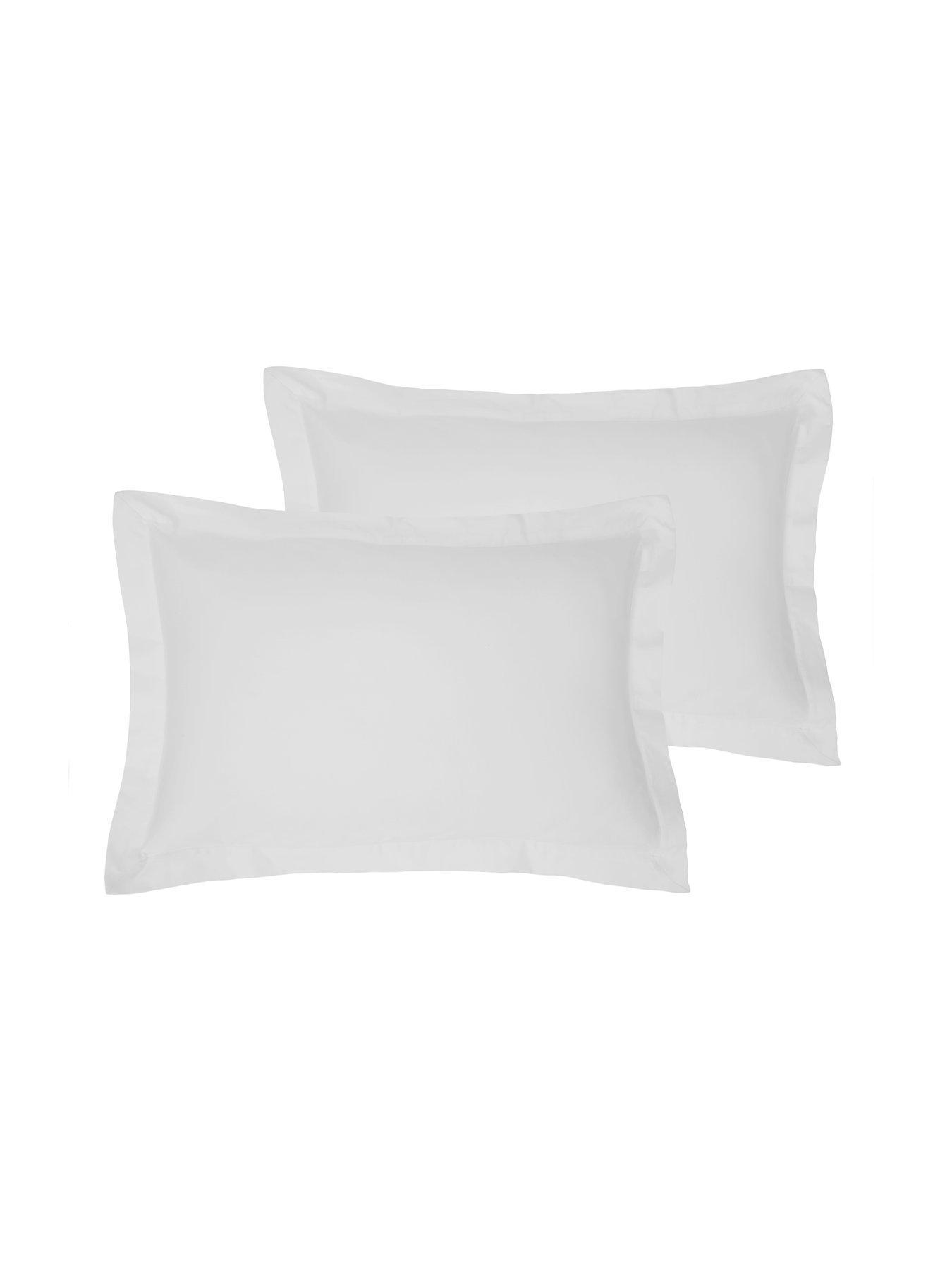 Hotel Collection Unisex stripe housewife pillowcase pair Pillowcase Cotton